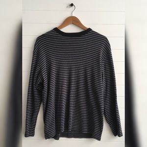 [Polo Jeans Co.] Striped Patch Skater Top Long Tee